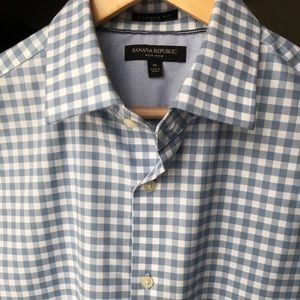 Banana Republic Camden Fit Check Shirt